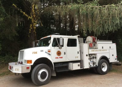Fort Dick Fire Protection District Pumper