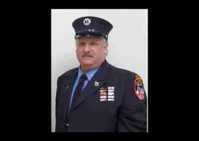 Paramedic Mark Peck