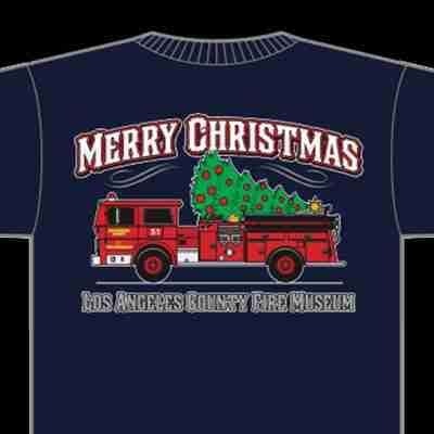 Museum Christmas T shirt