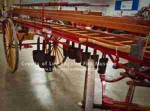 1900 Ladder Wagon upper view
