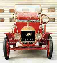 1915 American LaFrance Model T Chemical Hose Car