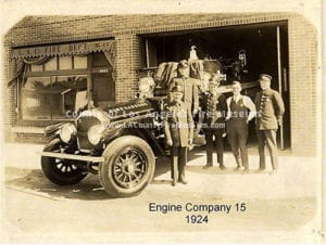 Engine Company 15 in 1924