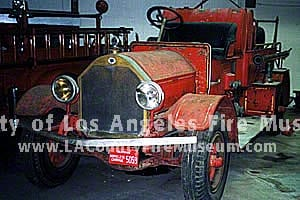 1921 Los Angeles City Seagrave Fire Engine