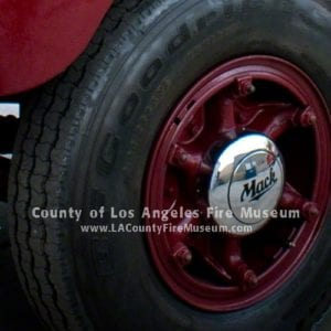 1954 Mack Tire  and rim