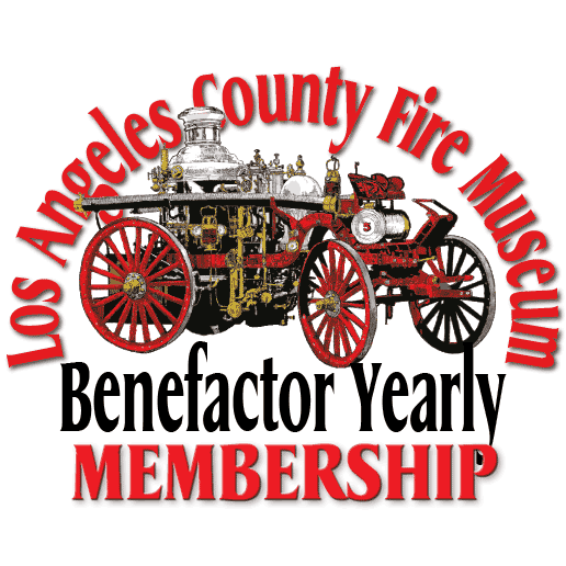 Los Angeles County Fire Museum Benefactor Yearly Membership