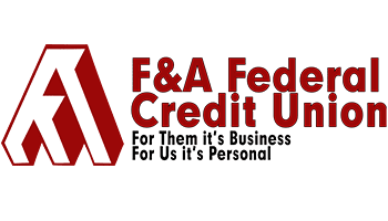 F&A Federal Credit Union, For them it's business, for us it's personal