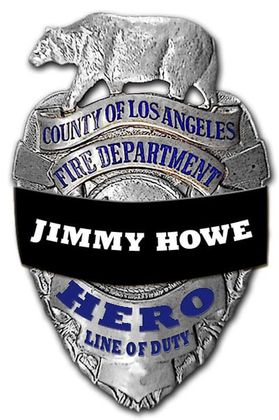 Los Angeles County Fire Department, Jimmy Howe, HERO Line of Duty