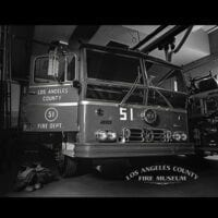 Engine 51 in a LACoFD station